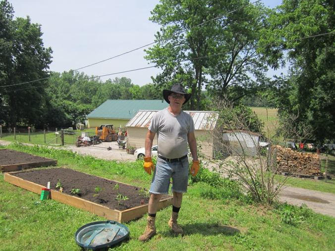 Ed and raised beds